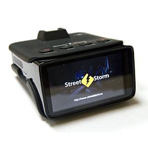 видеорегистратор + антирадар видеорегистратор с антирадаром Street Storm STR-9960SE