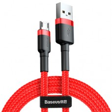 Baseus cafule Cable USB For Micro 1.5A 2M Red+Red