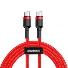 Baseus Cafule Series Type-C PD2.0 60W Flash charge Cable (20V 3A) 1M Red