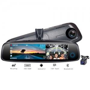 BlackView X8 – насыщенный видеорегистратор в зеркале с  тремя камерами, 4G, Wi-Fi, GPS, ADAS И Bluetooth.