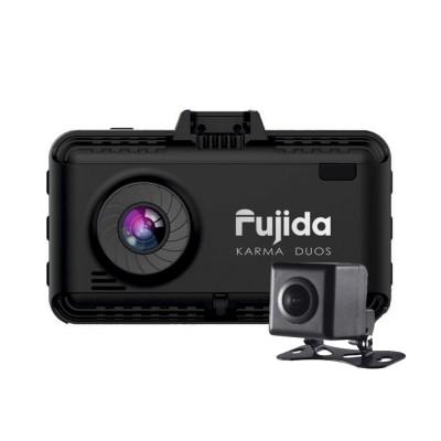 Видеорегистратор с антирадаром Fujida Karma Duos WiFi