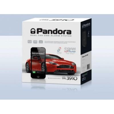 Автосигнализация с автозапуском Pandora DXL 3910