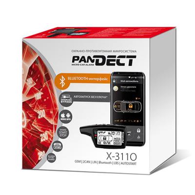 Автосигнализация с автозапуском Pandora Pandect X-3110