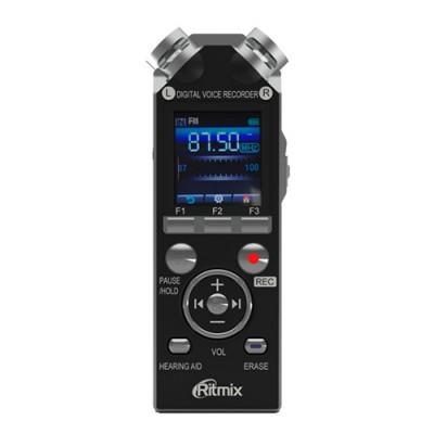 Диктофон Ritmix RR-989 4Gb black