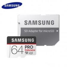 Карта памяти Samsung PRO Endurance MicroSD UHS-I(1) 64Gb 100/30 Mb/s