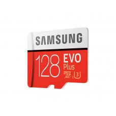 Карта памяти Samsung EVO Plus MicroSD UHS-I(3) 128Gb 100/90 Mb/s