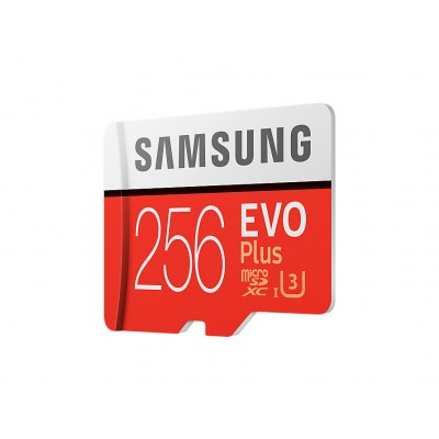 Карта памяти Samsung EVO Plus MicroSD UHS-I(3) 256Gb 100/90 Mb/s