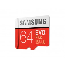 Карта памяти Samsung EVO Plus MicroSD UHS-I(3) 64Gb 100/60 Mb/s