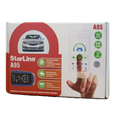 Автосигнализация StarLine A95 BT CAN+LIN GSM
