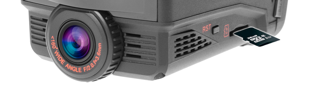 CARCAM COMBO 5 - Micro SD до 128 ГБ