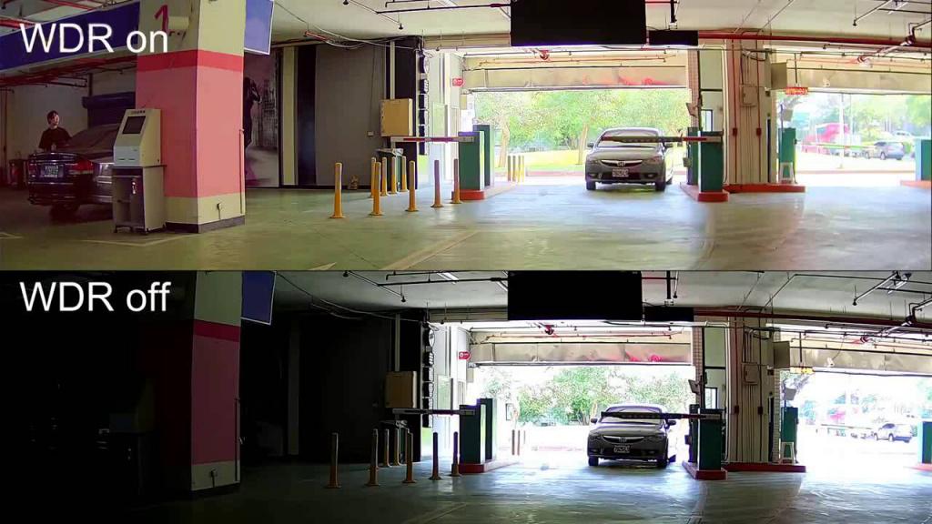 Автомобильный видеорегистратор CARCAM HYBRID - Функция WDR